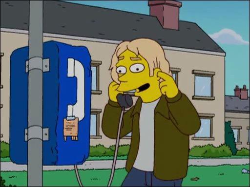 Son cousin lui téléphone pour évoquer un nouveau genre musical qu'Homer a créé. Qui est-il ?