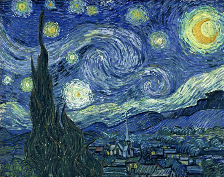 Quel est ce superbe tableau de Vincent Van Gogh, exposé au MOMA de New York ?
