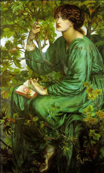 Quel nom porte cette célèbre toile du XIXe siècle, exécutée par Rossetti ?