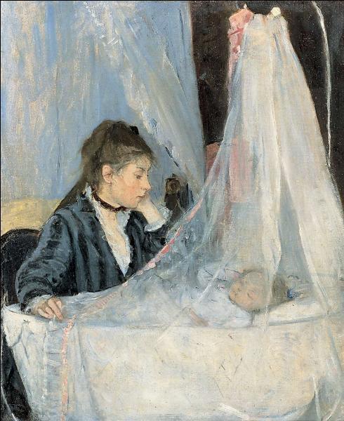 Berthe Morisot est l'auteure de cet émouvant tableau impressionniste, mais comment se nomme-t-il ?
