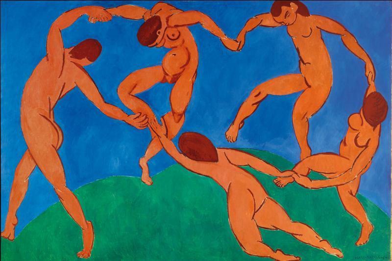 Quelle est cette toile appartenant au mouvement du fauvisme, utilisant seulement quatre nuances pures ?