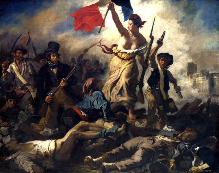 """Qui a peint """"La liberté guidant le peuple"""" ?"""