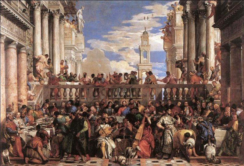 """Le tableau """"Les noces de Cana"""" est le plus grand du Louvre, et a récemment fait l'objet de nombreuses restaurations. Quel en était l'auteur ?"""