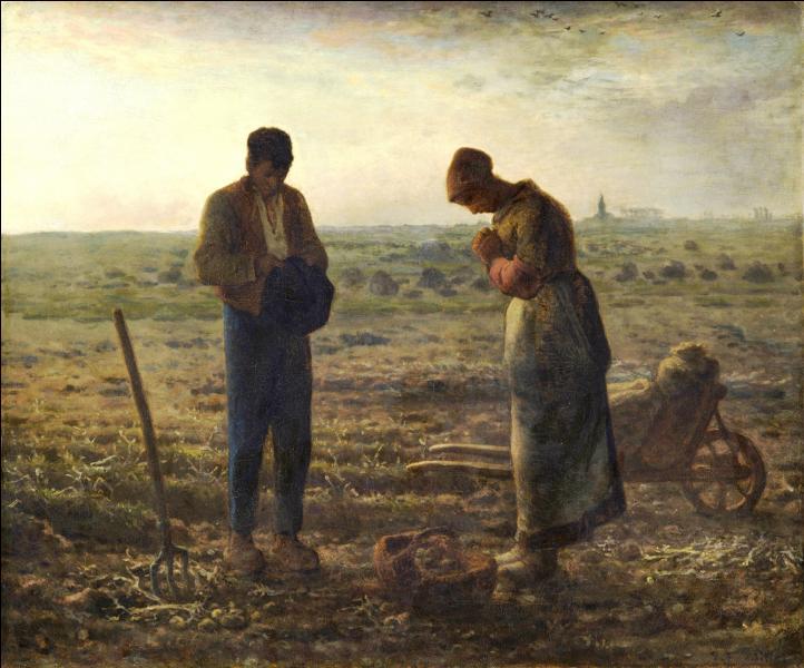 Quel nom de prière porte ce tableau de Jean-François Millet ?