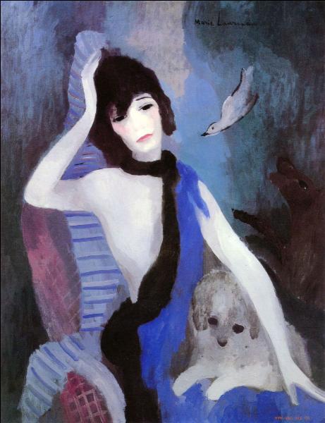 Comment s'appelle l'auteure de ce portrait de Coco Chanel ?