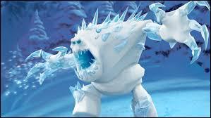 Comment Olaf appelle le monstre de glace fabriqué par Elsa ?