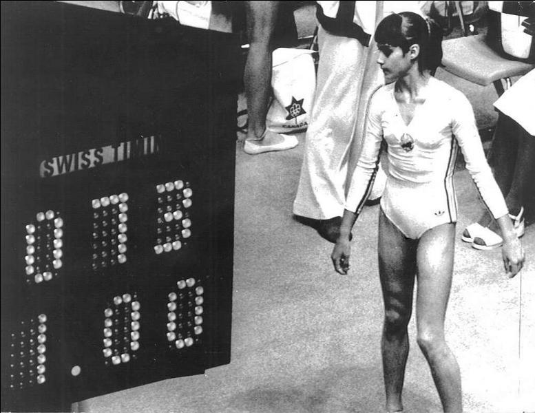 Qui est cette gymnaste qui a obtenu la note maximale pour la première fois aux barres asymétriques aux Jeux olympiques ?