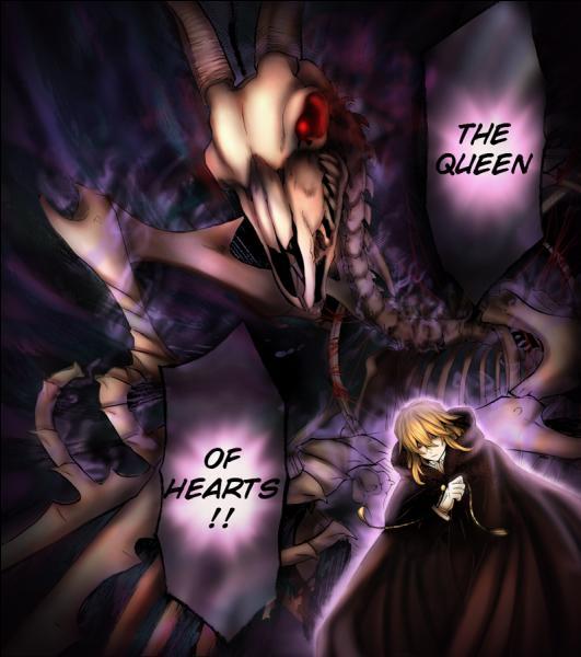 """Surnommée """"La Reine de cœur"""" cette Chain décapite ses ennemis ; son contractant est Vincent Nightray. Mais quel est son prénom ?"""