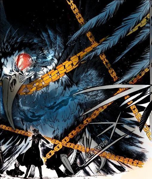 Cette Chain est l'une des 4 Chains aux ailes noires de Glen Baskerville, mais maintenant son contractant c'est Gilbert ; qui est-ce ?