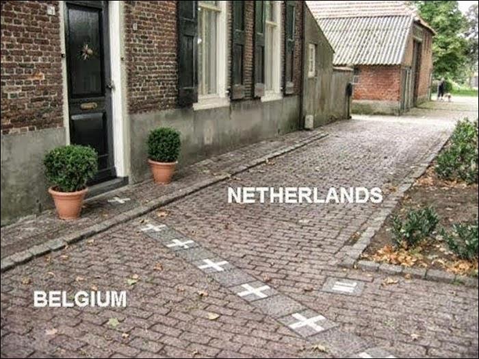 C'est avec les Pays-Bas que la Belgique partage sa plus longue frontière terrestre.