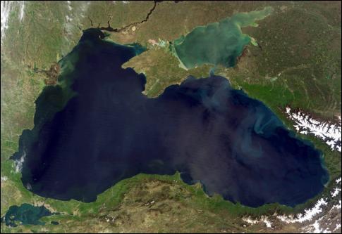 (Géographie) Lequel de ces pays d'Europe de l'Est n'est pas bordé par la mer Noire ?