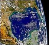 Le golfe du Mexique est situé au sud-est de l'Amérique du Nord, avec une superficie de 1 550 000 km2. Mais de quel océan fait partie ce golfe ?