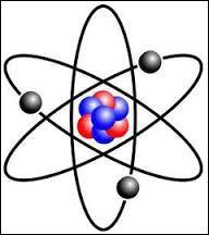 Est-ce que le noyau de cette molécule est de couleur noire ?