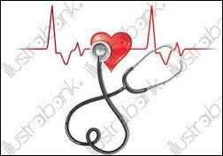 Le rythme cardiaque d'un homme en bonne santé se situe aux environs de 75 battements par minute.