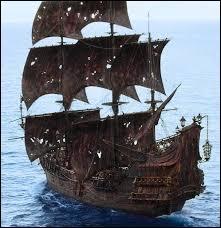 A la fin du film, par quoi Barbossa revendique-t-il l'équipage de Barbe-Noire ainsi que son navire ?
