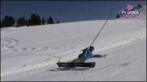 Lorsque vous allez au ski vous prenez :