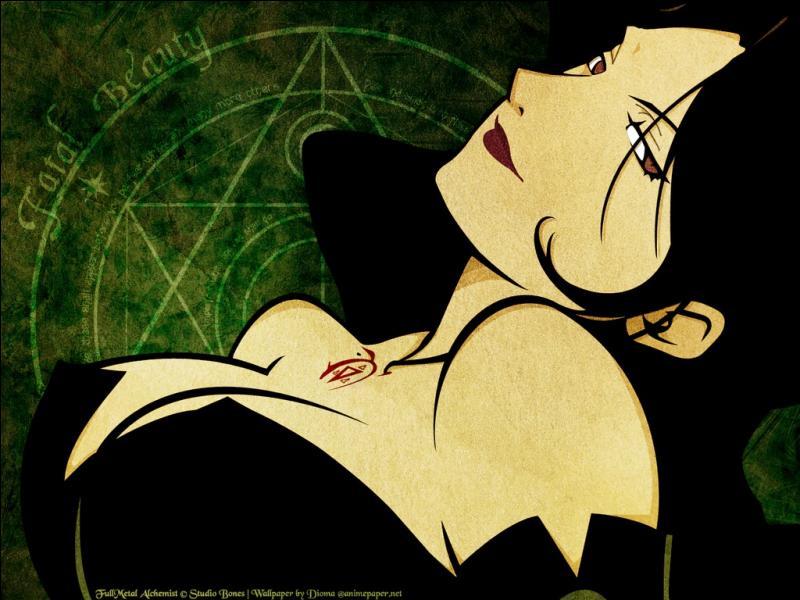 Et Lust, quel péché représente-t-elle ?