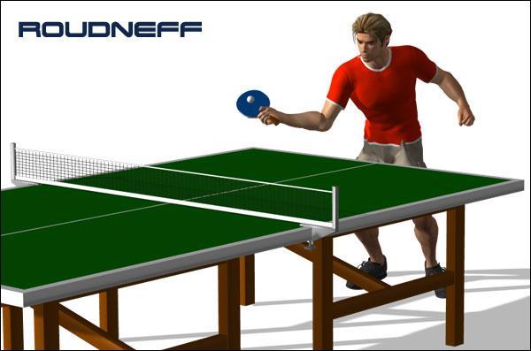 Quand j'adopte un système défensif au tennis de table, je m'appelle « Poussette ».