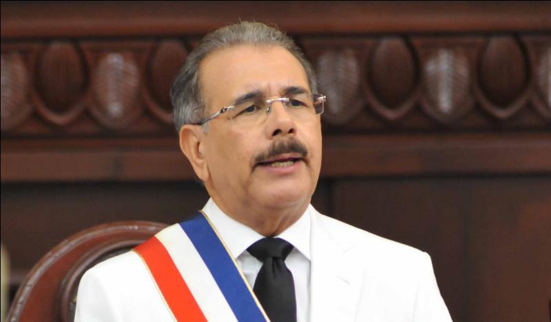 Qui est l'actuel président de la République dominicaine ?