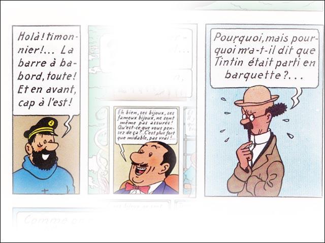 Dans Tintin, quel personnage fait son apparition dans « Le Trésor de Rackham Le Rouge » ?