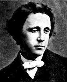 """C'est à Alice qu'il doit sa célébrité, mais il commence à écrire très jeune, et publie entre 1840 et 1853 des récits dont """"Le Parapluie du presbytère"""" et """"Le Château Patatras"""". Qui est ce grand écrivain ?"""