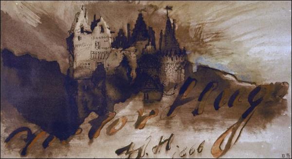 """L'oeuvre immense de Victor Hugo est composée à la fois de romans, poésie, pièces de théâtre. """"Le Château du diable"""", publié à titre posthume en 1939, est :"""