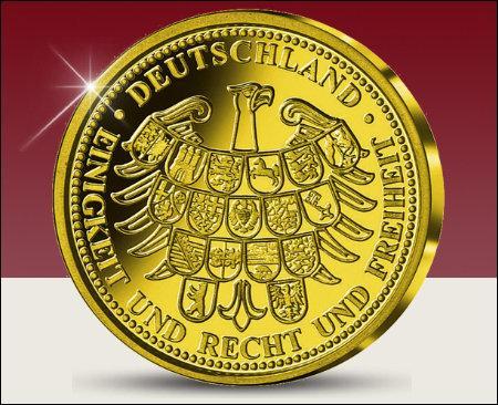 """La devise nationale de l'Allemagne est """"Unité et droit et liberté""""."""