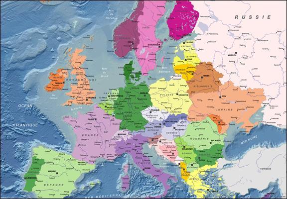 L'Allemagne et le Liechtenstein ont 43 km de frontière commune.