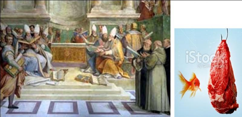 En 306, il n'y a pas de pape. C'est une période de vacances du poste. Mais, il y a eu un concile à Elvire, en Espagne. Pendant ce concile, certaines décisions intolérantes, de rigueur extrême et pire encore furent prises. A vous de trouver la mesure QUI NE FUT PAS PRISE.