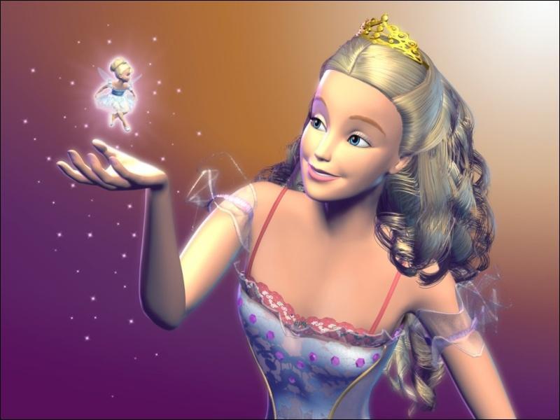 """Quel est le prénom de cette magnifique Barbie du film """"Barbie Casse-Noisette"""" datant de 2001 ?"""