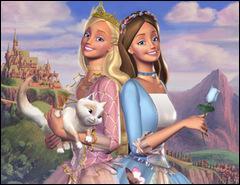 """Les deux Barbie que nous retrouvons dans """"Barbie : cœur de princesse"""" (2004) se nomment :"""