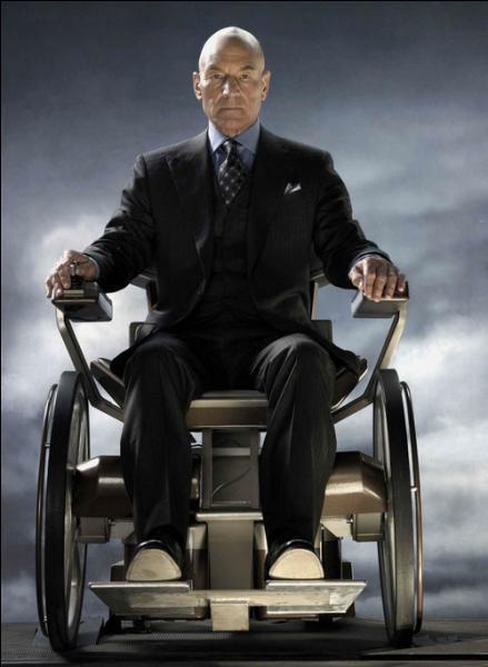 Commençons avec la base des X-Men : Voici Professeur X, de son vrai nom :