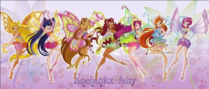 Qui est la deuxième fée à avoir obtenu son enchantix ?