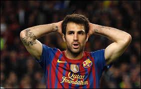 Cesc Fabregas retour en Angleterre à :