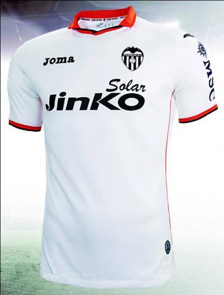 A quel club appartient ce maillot espagnol ?