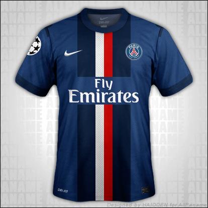 A quel club appartient ce maillot français ?