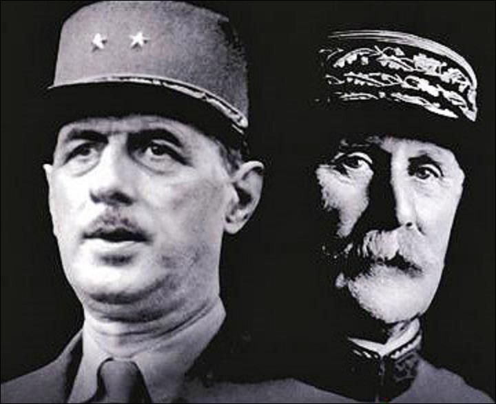 Il a été chef du « Gouvernement Provisoire de la République Française », avant de subir une « traversée du désert » et de devenir « Président de la République ».  Qui est-il (réponse 1 ou 2) ? Durant quelle guerre mondiale s'est-il illustré (réponse 3 ou 4) ?