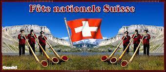 La Fête nationale suisse est célébrée le 1er août.
