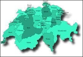 Le pays est formé de vingt-six cantons.