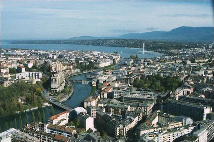 Genève est la ville Suisse la plus peuplée.