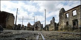 Quelle est la date du massacre d'Oradour-sur-Glane, en Haute-Vienne ?