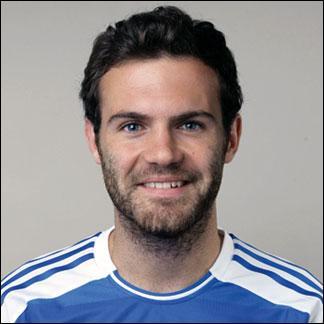 Juan Mata est un joueur de Manchester United. Il a été transféré de Chelsea à Man.Utd pour 44, 9 millions d'euros. Où a-t-il joué pendant sa carrière ?