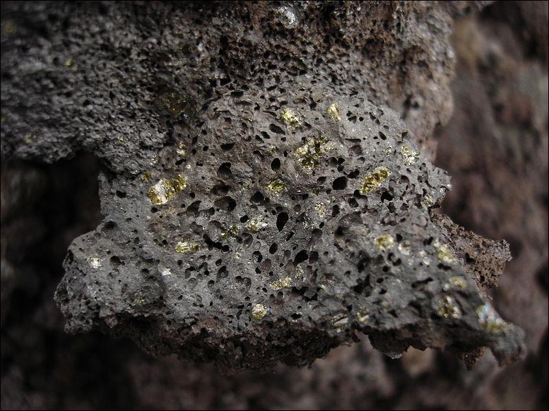 Il existe une roche volcanique présente à la fois sur Terre et sur Mars !