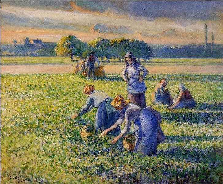 Décédé le 13 novembre 1903, quel fut ce grand peintre impressionniste qui réalisa aussi des toiles pointillistes magnifiques et beaucoup de scènes rurales ?