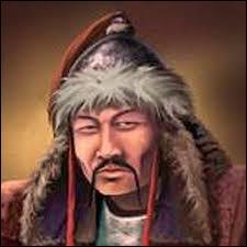 Qui est le fondateur de l'empire mongol, un des plus vastes empires du monde allant de la Chine aux frontières de l'Europe au XIIIe siècle ?