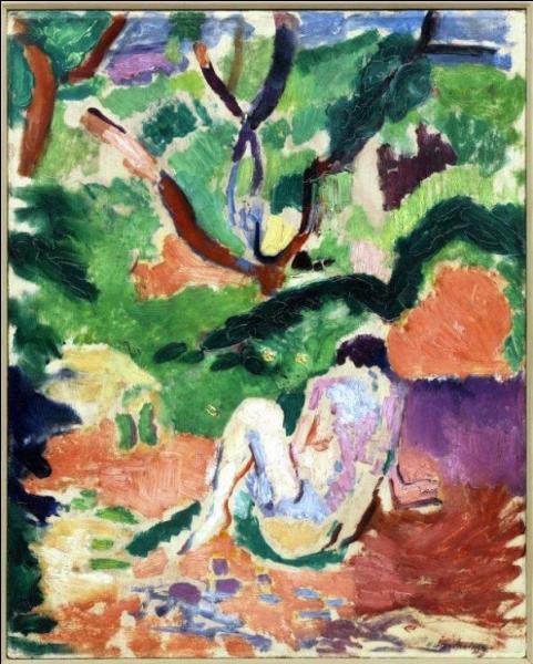 Qui a peint Nu assis dans la forêt ?