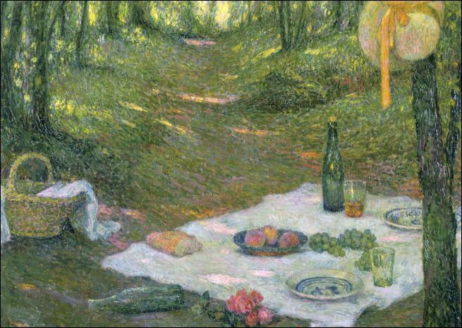 Qui a peint Pique Nique dans la forêt de Gerberoy ?