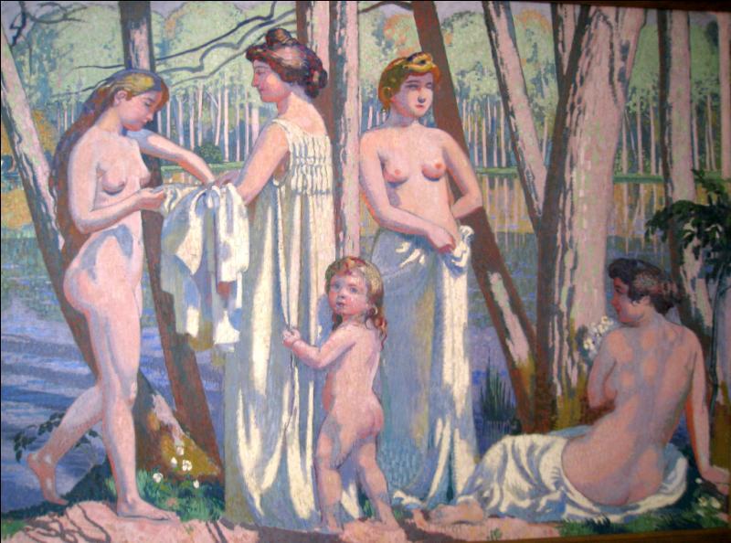 Qui a peint Le printemps dans la forêt ?