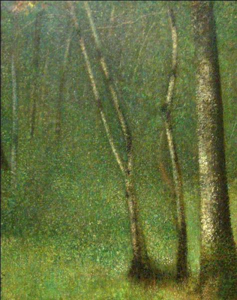 Qui a peint La forêt à Pontaubert ?