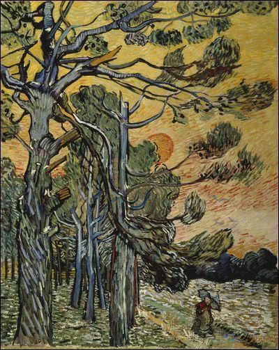 Qui a peint Forêt au déclin du jour ?
